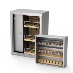 Шкафы для автоматов и пистолетов